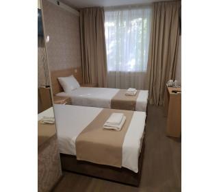 Саше - покрывало для гостиниц (лен-блэкаут)