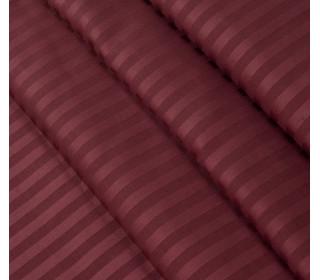 Постельное белье страйп-сатин БОРДО   (1,5сп с 1нав)